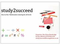 Maths tuition, qualified and experienced Mathematics teacher offering Maths tuition to all levels.
