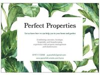 Housekeeping & Gardening Services - Perfect Properties
