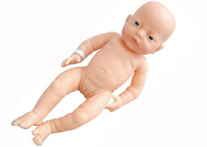 NEWBORN Anatomically Correct BABY DOLL Girl NAPPY Pretend Imaginative PLAY TOY