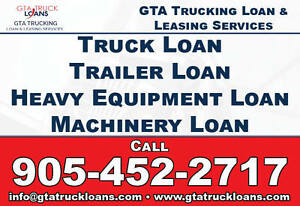TRUCK LOAN, EQUIPMENT, MACHINERY LOAN BAD CREDIT