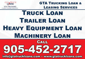 TRUCK LOAN(USED or NEW), EQUIPMENT LOAN FAST APPROVAL BAD CREDIT