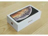 *In Hand, Collect Now!* iPhone XS Max Gold 256GB Brand New Sealed Sim Free w Apple Receipt 256