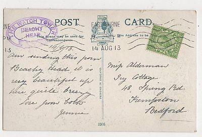 Miss Alderman Ivy Cottage Spring Road Kempston Bedford 1913  301a