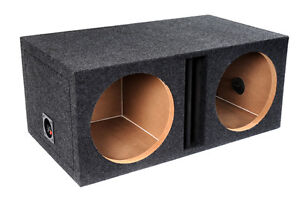Dual 10inch Ported/Vented Subwoofer Enclosure