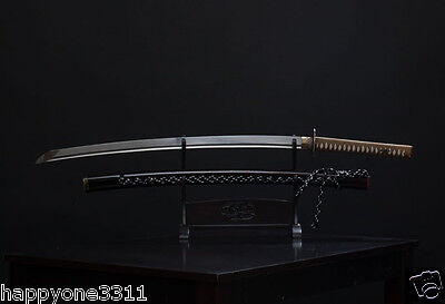 Traditional  Korean Chosun Dynasty Kings Sword Big Digger Saingeom Folding Steel
