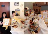 Time for Tea - 1940's Vintage Tearoom in Beeston launch Blooming Great Tea Party for Marie Curie.