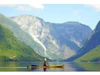 Kayaking & Hiking in the Norwegian Fjords