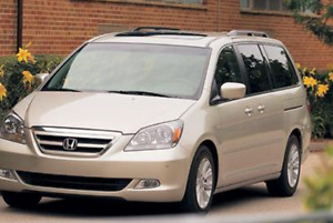 Wanted used Honda Odyssey or Toyota Sienna 2004 -2008