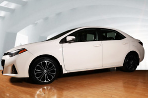 WOW! 2015 Toyota Corolla S   3YRS OR 100,000KMS Warranty remains
