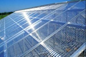 UV protected Twinwall Polycarbonate Panels 6, 8 and 10 mm