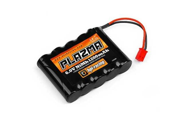 HPI Racing Plazma 6.0V 1200MAH NiMH Micro RS4 Battery Pack 110203