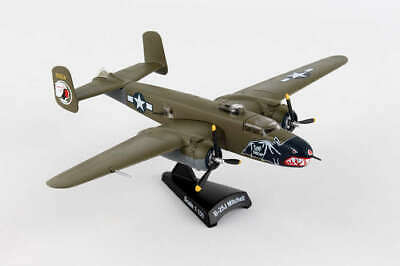 Diecast Metal Airplane w/ Stand - USAF B-25J Mitchell Betty's Dream 1/100 Plane