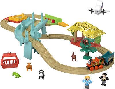 Thomas & Friends Wood Train Big World Adventures Set 36 Play Pieces New