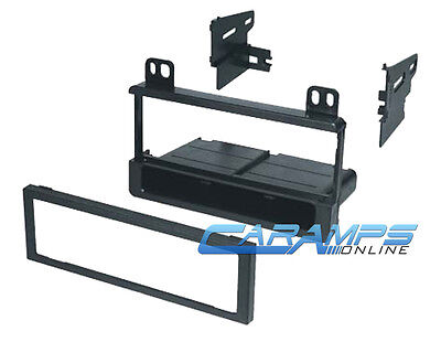 NEW CAR STEREO RADIO CD PLAYER DASH INSTALL MOUNTING KIT INSTALLATION MOUNT