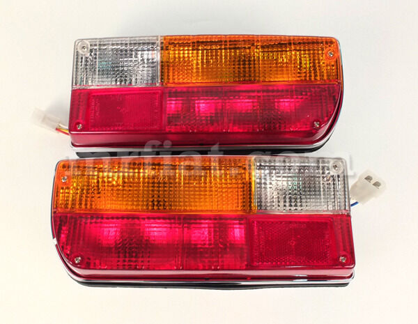 Alfa Romeo Gt Junior Gtv 2000 Complete Original Rear Lights Set
