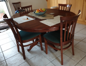 Kitchen Table with 6 Chairs | Dining Tables | Gumtree ...