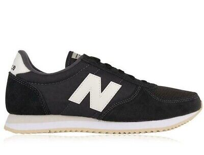 ⚫ 2020 New Balance 220 Suede ® ( Size UK 6 EUR 39.5) Black Suede Leather WL220TD