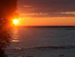 Beautiful waterfront lot on Lake Huron, North Bruce Peninsula