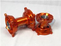KTM 85 Aftermarket Front & Rear Hubs (SMPRO) Brand new! Includes Spaces & Bearings!
