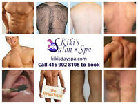 Men Waxing in Private Home Spa in Brampton