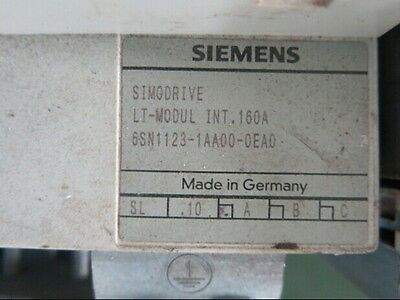 Used 6sn1123-1aa00-0ea0 Siemens Plc Module Tested