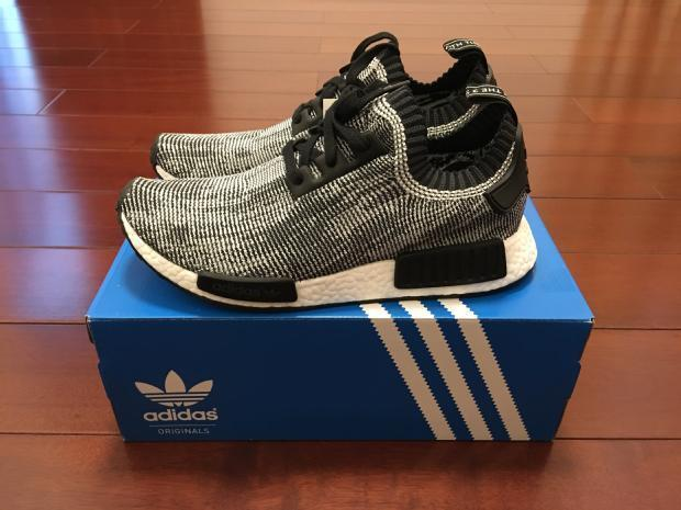 Cvsxft adidas NMD R1 Glitch Solid Gray White Sneaker Bar Detroit