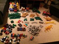 Geotrax buildings, trains and accessories