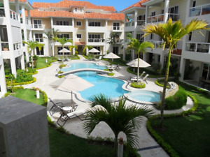 Cabarete beach, condos 1 to 3 bdrms Procab community