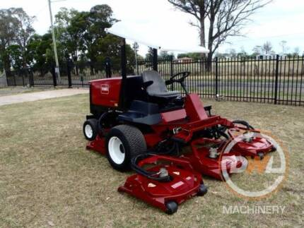 TORO GROUNDSMASTER 4500D WING RIDE ON WIDE AREA LAWN MOWER