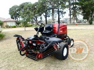 TORO REELMASTER CROSSTRAX 5610 FAIR WAY REEL LAWN MOWER Austral Liverpool Area Preview