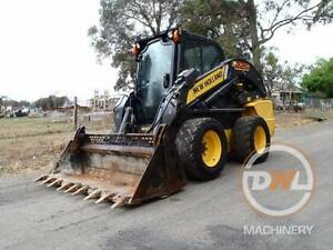 2013 NEW HOLLAND L225 HIGH FLOW A/C CABIN SKID STEER BOBCAT Austral Liverpool Area Preview