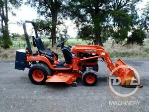 KUBOTA BX2230 22HP DIESEL 4X4 TRACTOR FRONT END LOADER MOWER Austral Liverpool Area Preview