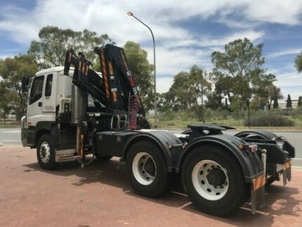 Isuzu CXY GIGA  Crane Truck Regency Park Port Adelaide Area Preview