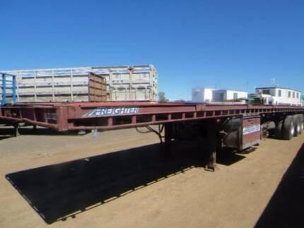 Freighter Semi Freighter Flat Top Trailer Flat top