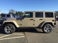 2017 Jeep Sahara Unlimited Front/Rear bumpers/Tires/Rims/Hood