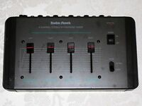 Radio Shack 4 Channell Stereo Microphone Mixer