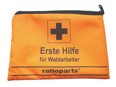 Erste Hilfe Set Tasche für Waldarbeiter Forstarbeiter Verbandstasche Notfallset