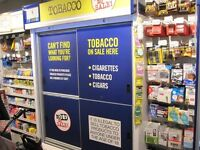 Tobacco/ cigarette Gantry