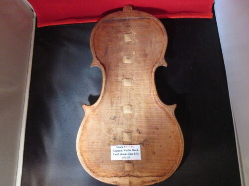 Violin Back Generic Used