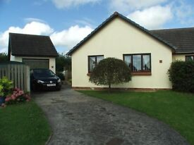 2 Double Bedroom Modern Bungalow - off road parking, garage, conservatory & large secure garden