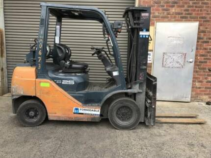 2.5 Tonne 8 Series Toyota Forklift Wingfield Port Adelaide Area Preview