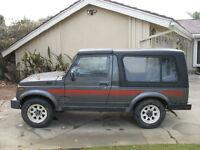 Suzuki Samurai LWB - 1984-88