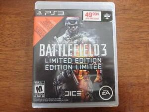 BATTLEFIELD 3 LIMITED EDITION FOR PS3 West Island Greater Montréal image 1