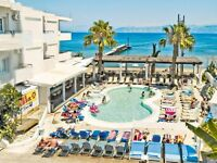 Flight and Hotel for 3 X people to Kavos 18-30