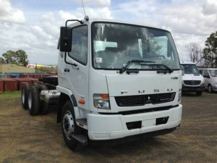 Fuso Fighter 2427 SWB 6x4, Automatic Cab chassis (FNJ25111)
