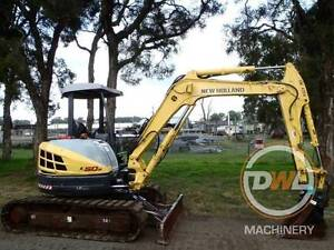 NEW HOLLAND E50B TRACKED EXCAVATOR BOBCAT BACKHOE KOBELCO CASE Austral Liverpool Area Preview