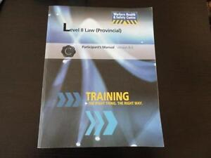 Level II Provincial law Participant's Manual Book London Ontario image 1