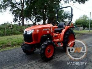 2015 KUBOTA L3800D 38HP 4X4 FWA TRACTOR 334 HOURS JOHN DEERE Austral Liverpool Area Preview