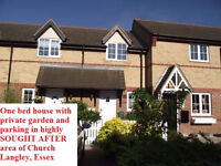 One bedroom house to rent in highly SOUGHT AFTER area of Church Langley, Essex!