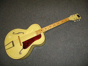 1960 Kay Archtop Acoustic Guitar.